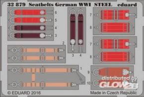 WWI Gurte  dt. Luftwaffe Stahl, Fotoätzteile