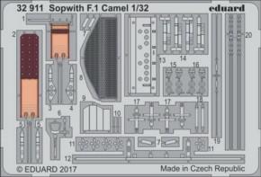 Sopwith F.1 Camel, Fotoätzteile (WW)