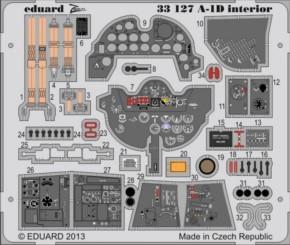 A-1D interior, Fotoätzteile (TRU)