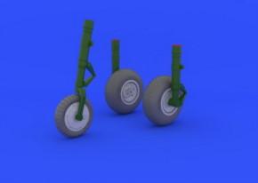 Me 262 Räder, Fotoätzteile (TRU)