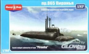 sov. midget submarine Piranha