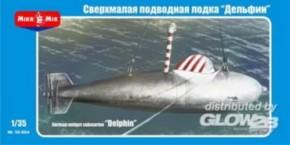 dt. Midget-Uboot Delphin-1 WWII