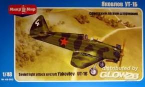 Vakovlev UT-1 sov. trainer