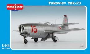 Yakovlev Yak-23 Fighter
