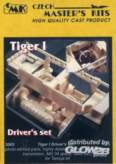 Tiger I Fahrer-Set, Resin-Detail-Set (TAM)