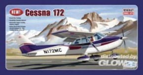 Cessna 172 mit festem Fahrwerk