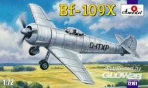 Me Bf-109X German experimental Aircraft