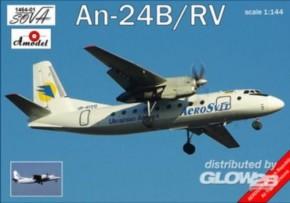 Antonov AN-24B/RV Ukrainian Airliner