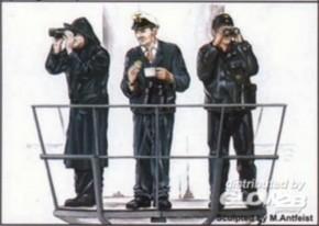 U-VII Besatzung, 3 Resin-Figuren