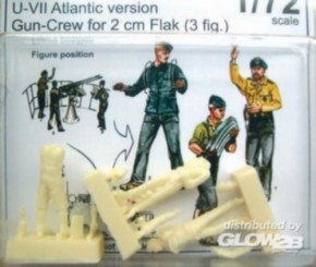 U-VII Atlantik, Gun-Crew 2cm Flak