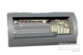 Motorraumsektion für U-Boot IX