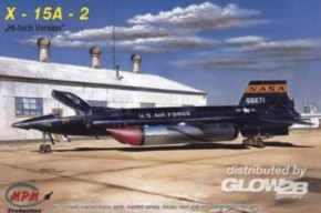 Bell X-15A-2 Hi-Tech mit Resin-Teilen