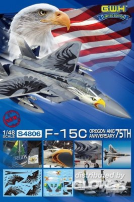 F-15C Oregon Ang 75 th Anniversary, limitiert