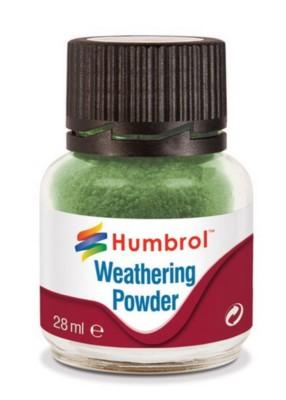 Weathering Powder Chrome Oxyd, Alterungspulver Chromoxydgrün, 28ml