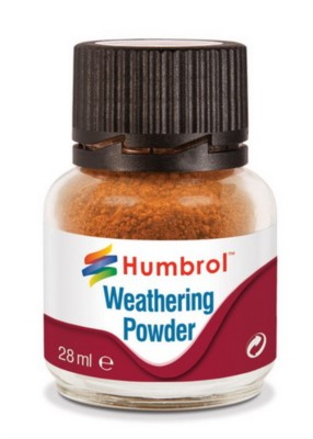 Weathering Powder Rust, Alterungspulver Rost, 28ml