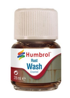 Enamel Wash Rust, 28ml