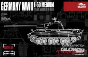 WWII E-50  with 88, limitiert
