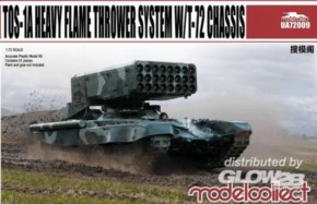 TOS-1A Heavy Flame Thrower System W/T-72 Chassis