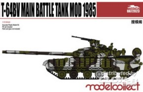 T-64BV Main Battle Tank Mod. 1985