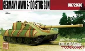 WWII E-100 StuG gun