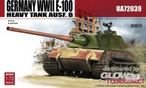 WWII E-100 Heavy Tank Ausf. B