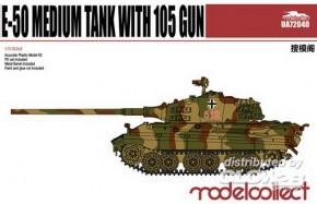 WWII E-50 Medium Tank with 105gun