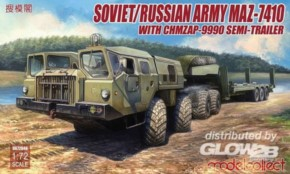 russ. Army MAZ-7410 w.ChMZAP- 9990 semi-trailer