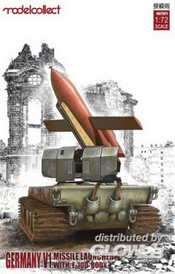 dt. WWII V1 Missile Launcher w. E-100 body