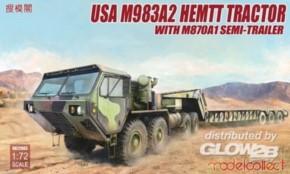 US M983A2 HEMTT Tractor & M870A1 Semi-trailer
