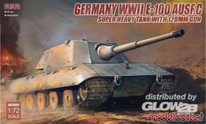 WWII E-100 Ausf. C mit 128mm Kanone