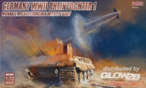 WWII Rheintochter 1 auf E75 Fahrgestell