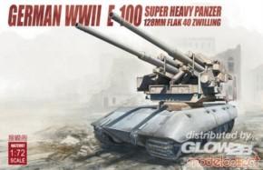 WWII E-100 Ausf. mit 128mm Flak 40
