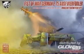 Fist of war WWII E-75 Ausf. vierfüßler mit Rheintochter 1