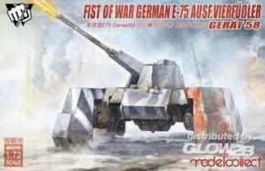 Fist of war WWII E-75 Ausf. Vierfüßler Gerät 58