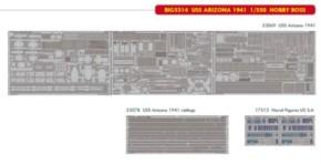 Big ED für USS Arizona 1941 (HB)